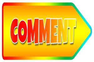 Hinweis auf Kommentar/Stellungnahme