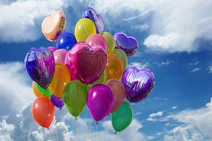 Luftballons, Feier