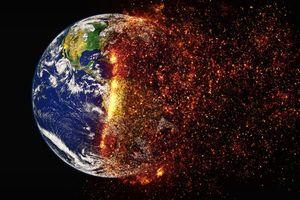 "Klimawandel - Erde ""verglüht"""